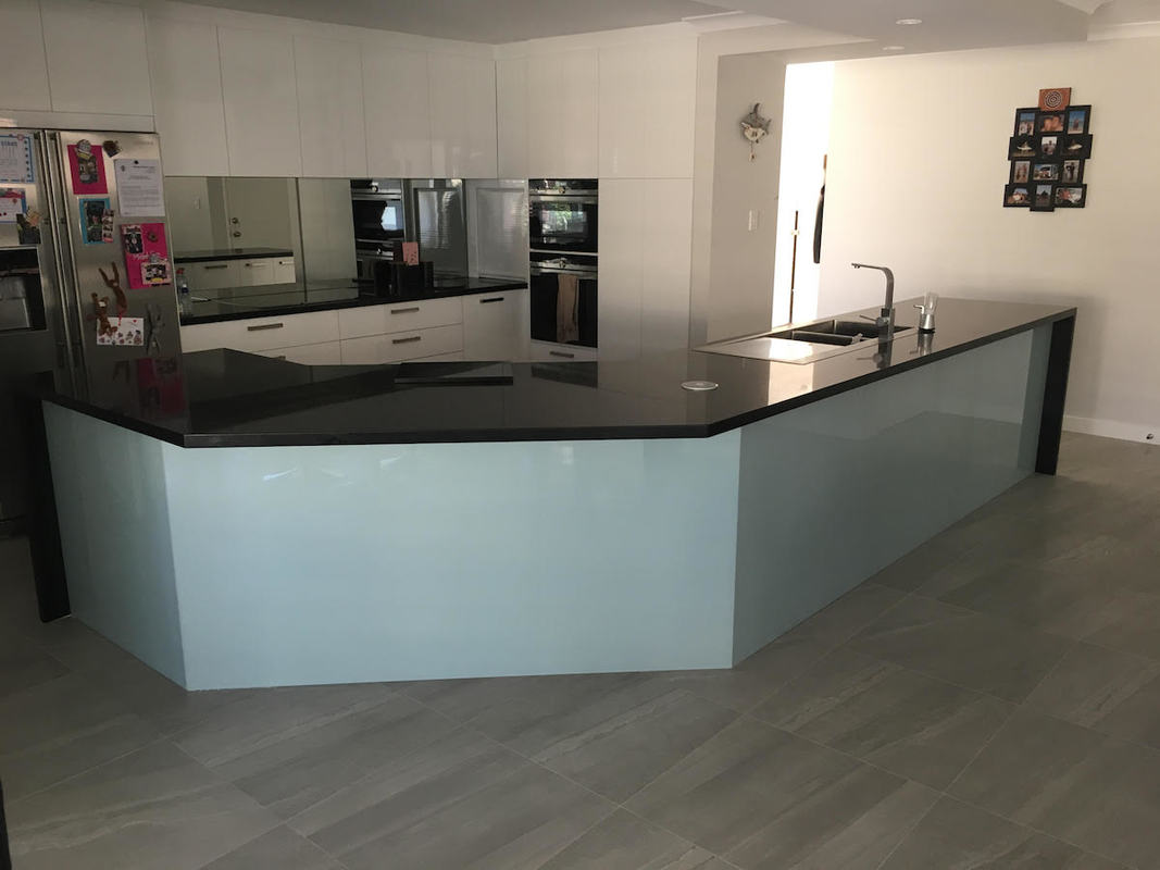 Glass kitchen splashbacks, Perth WA